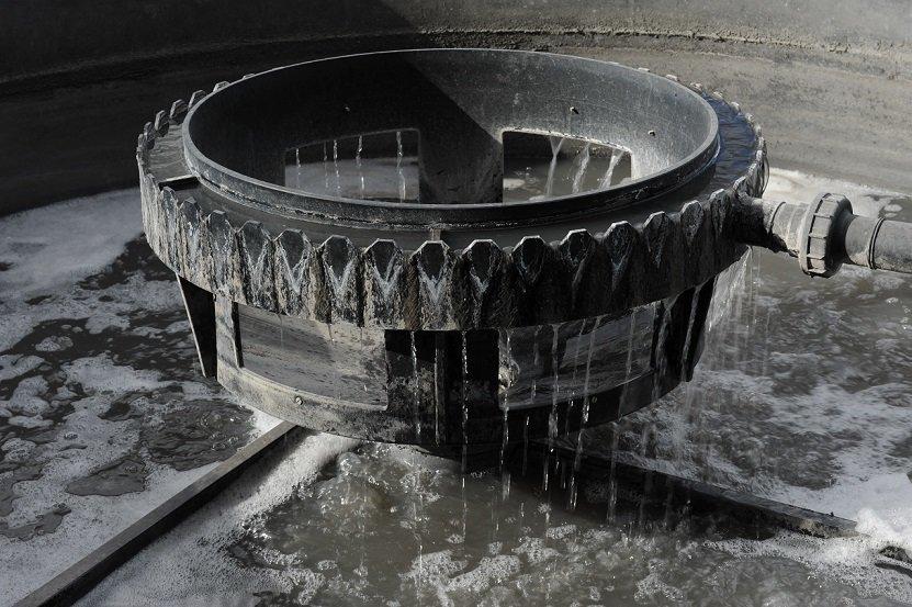 Réacteur biologique pour eaux usées