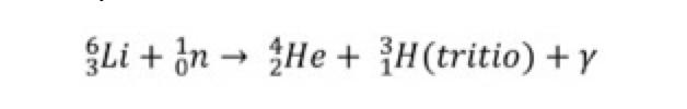 Litio-6 con los neutrones