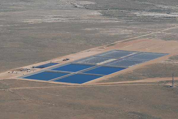 evaporation ponds for wastewater treatment and ZLD