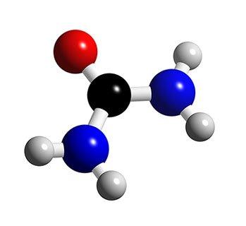 Molécula de urea