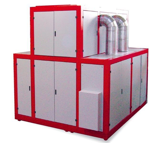 evaporador al vacío compresión mecánica vapor