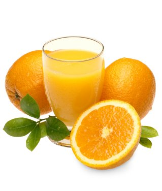 Oranges, Juice and Leafs